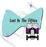 Lost in the fifties stock illustration