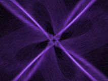 Lost focal point. Fractal cross image in black and lilac stock illustration