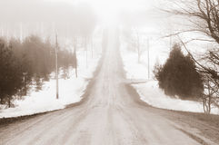 Lost highway Stock Photography
