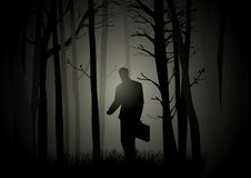 Lost In The Dark Stock Photos