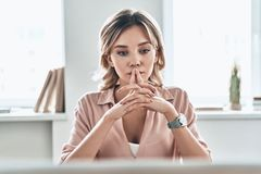 Free Lost In Thoughts. Royalty Free Stock Photo - 129086005