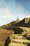Lost incas city Machu-Picchu Royalty Free Stock Images