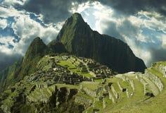 Lost incas city Machu-Picchu Stock Image