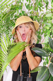Lost in the jungle Royalty Free Stock Photography
