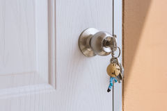 Lost keys background Stock Images