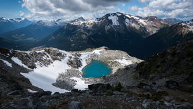 Lost lake. In permberton BC Royalty Free Stock Photography