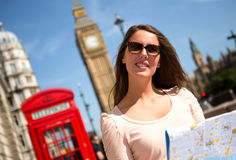 Lost in London Royalty Free Stock Photography