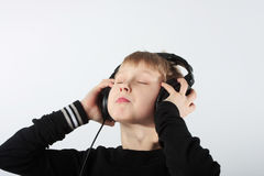 Lost in music Royalty Free Stock Image