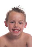 Lost my first tooth Stock Photo
