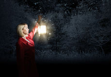 Lost in night Stock Images
