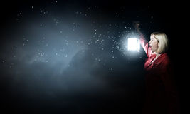Lost in night Royalty Free Stock Images
