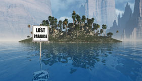 Lost paradise Royalty Free Stock Images