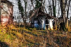 Lost Place stock image