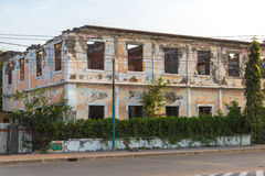 Lost places dili. Lost places timor leste dili Royalty Free Stock Photo