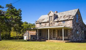 Lost places - old abandoned wooden house at Route 66 - STROUD - OKLAHOMA - OCTOBER 16, 2017 Stock Photo