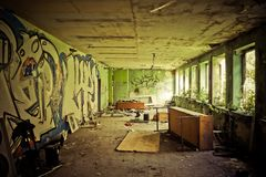 Lost Places, Pforphoto, Leave Royalty Free Stock Images