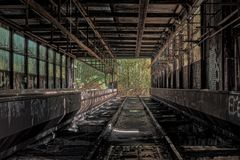 Lost Places, Pforphoto, Old Factory Stock Image