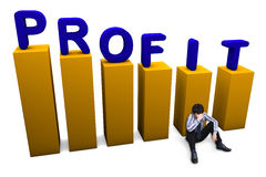 profit loss chart stock photos royalty free stock images