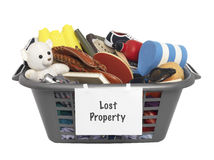Lost Property Stock Image