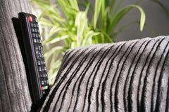 Lost Remote. Picture of lost TV remote control stock photos