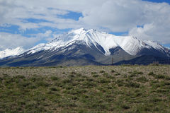 Lost River Mountains - Dickey Peak. The Lost River Mountains are located between Mackay and Challis and includes most of the tallest peaks in Idaho Royalty Free Stock Image