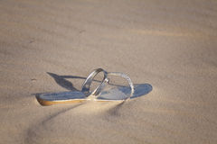 Lost In The Sand Royalty Free Stock Photography
