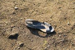 Lost sandal Stock Photos
