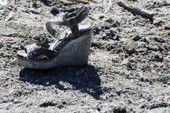 Lost shoe Stock Photo
