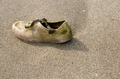 Lost shoes Royalty Free Stock Photos