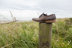 Lost shoes. Royalty Free Stock Images