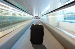 Lost suitcase Stock Images