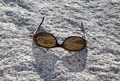 Lost sunglasses Stock Photo