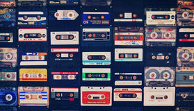 LOST TAPES. Stock Photography