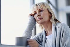 Lost in thought Royalty Free Stock Images