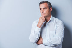 Lost in thoughts. Royalty Free Stock Images