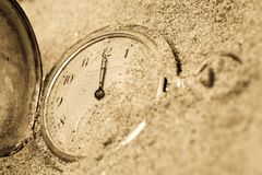 Lost time Royalty Free Stock Images