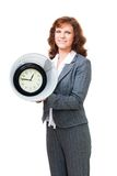 Lost time in bin Stock Photo