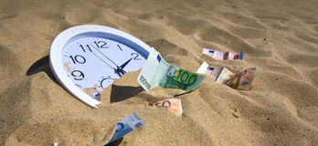 Lost Time and Money Concept Royalty Free Stock Photo