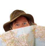 Lost Traveller Stock Photo