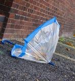 Lost umbrella Stock Image