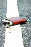 Lost wallet Royalty Free Stock Images