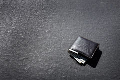 Lost Wallet Lying on Street or Road Stock Photography
