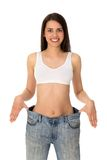 Lost weight Royalty Free Stock Photo