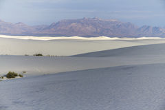 Lost in White Sands Monument Stock Image