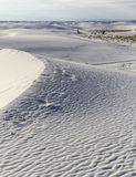 Lost in White Sands Monument Stock Photography