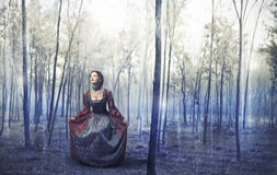 Lost Woman Stock Photography