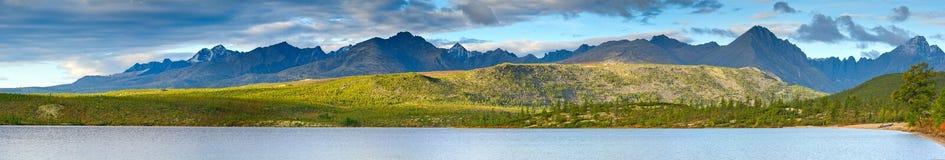 Lost World. The sunrise on the Jack London Lake Royalty Free Stock Photography