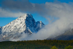 Lost World. The mountain ridge Big Anngachag Stock Image