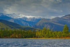 Lost World. The mountain ridge Big Anngachag Royalty Free Stock Images