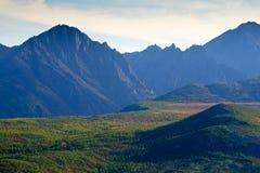 Lost World. The mountain ridge Big Anngachag Stock Photos